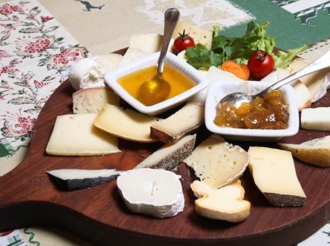 formaggi con miele e marmellata